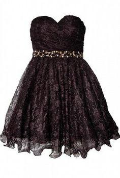 Bandeau Jewel Trim Dress by OPULENCE ENGLAND @girlmeetsdress
