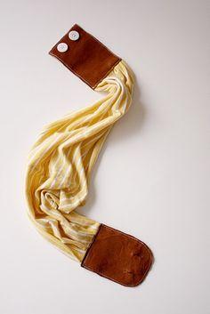 DIY leather belt