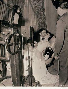 Rodaje de Lo que el Viento se llevó. (MGM, 1939)