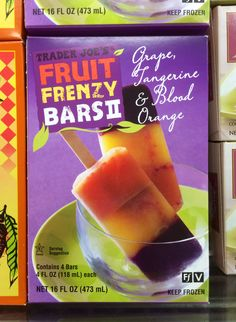 Trader Joe's Fruit Frenzy Bars II.