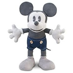 Disney Mickey Mouse Plush Toy - 25th Anniversary - 18'' D23 Exclusive