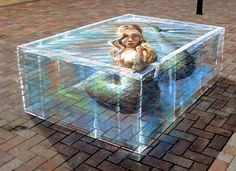 Gregor Wosik chalk art