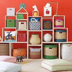 On the Hunt for Crate Shelves - Design Mom