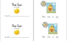 Sun Emergent Reader... a printable mini-book!
