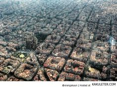 Eixample - octagonal blocks in rigorously planned early 20th century extension of Barcelona