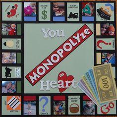 Layout: You MONOPOLYze my Heart