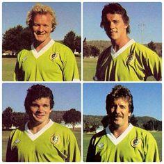 FLASHBACK: 1982 Foundation Canberra Raiders, Clockwise from top left: Scott Dudman, Ian Hamilton, Allan Smith, Peter McGrath.