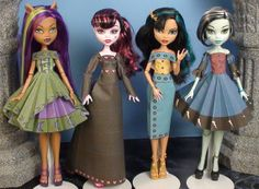 Diana Printable Monster High Clothes