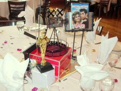 Hollywood Movie Wedding Centerpiece