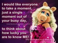 Kermit And Miss Piggy Quotes Miss Piggy Quotes on P...