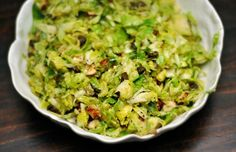 Recipe:  Hashed Sprouts with Hazelnuts and Fried Capers