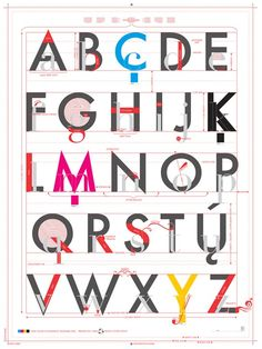 Best Quality Unrivaled Personalized Gifts at Red Envelope via http://www.AmericasMall.com/redenvelope-gifts Alphabet of Typography #redenvelope #gifts #personalizedgifts
