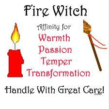 Elements Fire:  Fire Witch