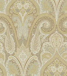 upholstery fabric dining room (Waverly Cashmere / Pearl)
