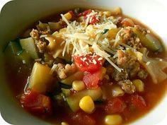 Quick and Easy Lasagna Soup SixSistersStuff.com #Recipe #Dinner