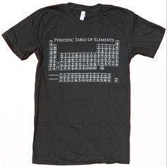 Periodic Table Tee