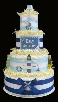 Nautical baby shower
