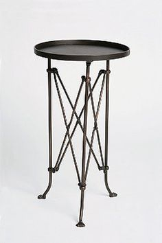 living rooms, accordion side, urban outfitters, metal accordion, metals, end tables, bedside tables, accent tables, bedroom