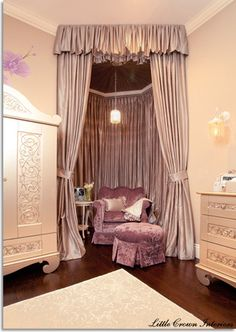 Celebrity Nursery for Mel B by Little Crown Interiors