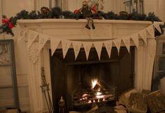 swedish christmas god jul! godjul, idea, swedish design, interior designholiday, designholiday decor, swedish interiors, christmas, fireplac garland, swedish christma
