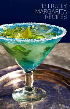 Every one is going to want an invite to your next summer party when you serve some of our best margarita recipes! Find them all here: http://www.bhg.com/recipes/drinks/wine-cocktails/margarita-recipes/?socsrc=bhgpin061614margaritarecipes #recipe #healthy #fitness