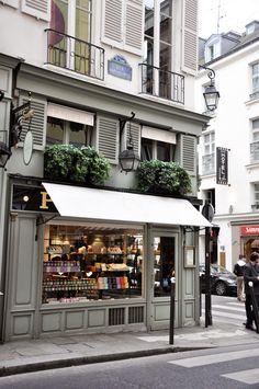 Ladurée   Paris grays with window colors