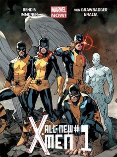 All New X-Men ... Old X-men?