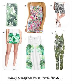 Trendy & Tropical: T