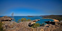 The amazing view from Mt Ettalong Lookout, Central Coast. New South Wales. Australia - Marilyn McKay Photography