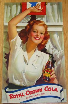 Royal Crown Cola Ad, 1943