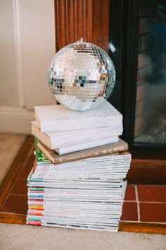 A NYE disco ball