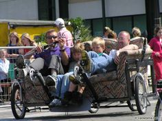 Pedal powered couch.