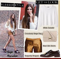 """Blogger Style/Negin Mirsalehi"" by helenevlacho on Polyvore"