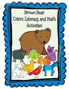 This is a 75 page unit of my very best Brown Bear activities that I have used for the last 3 years with my students.  5.00