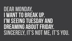 Breaking up!