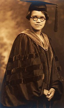 Sadie T.M Alexander, 1st African-American woman to receive a PhD in the U.S. in 1921 & 1st African-Ameican to graduate from Univ. of Penn Law School & admitted to PA Bar