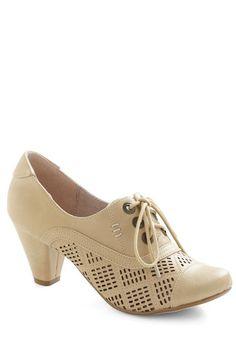 Chelsea Crew Shoes Quilting Class Heel www.modandretro.com