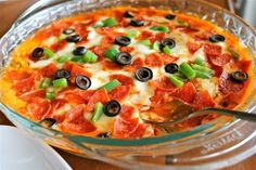 Hot Pizza Dip | TheFoodCharlatan.com