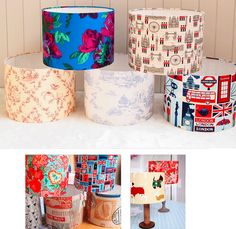 30cm Drum Lampshade Making Kit Design a lampshade to match your upholstery curtains wallpaper or any room theme Our kit makes you a professional 30cm