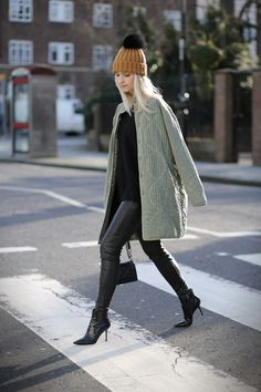 Charlotte Groeneveld wearing the AMORE boot