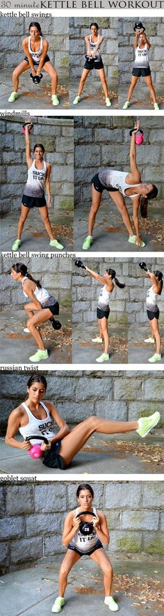 Amazing Snaps: 30-Minute Kettlebell Workout