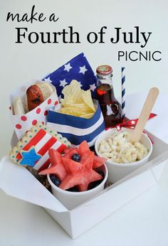 Project Nursery - Fourth of July Picnic