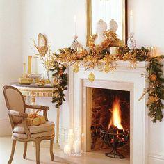 Christmas mantle?
