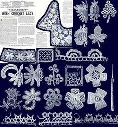 irish lace crochet patterns - Google Search