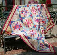 Playa Estrella by Janet Jo Smith in Best Fat Quarter Quilts 2014.
