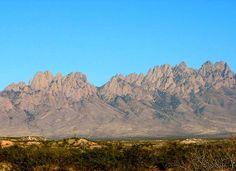 Organ Mountains, Las Cruces, New Mexico.