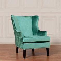 Winchester Velvet Arm Chair - yes, please.