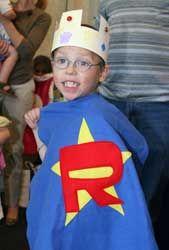 comfort capes for hospitalized children :)