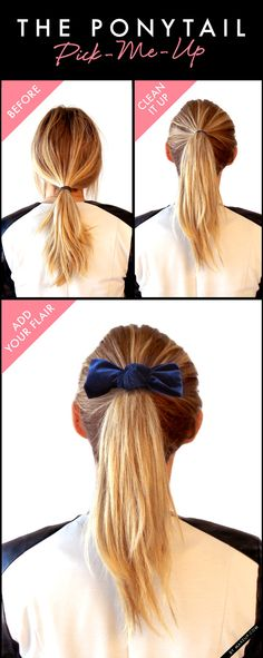 How to revamp your ponytail! #hair