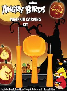 Paper Magic Angry Birds Pumpkin Carving Kit